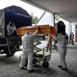 Northern Italy Crematoria Are Overwhelmed with COVID-19 Dead