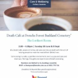 8th August 2019 - Death Cafe at Frenchs Forest Bushland Cemetery
