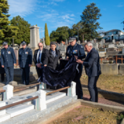 Police Association Victoria honours its founder