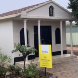 Little House in  the Cemetery for Sale