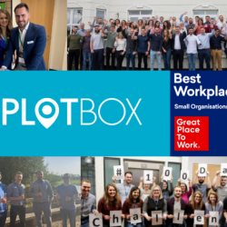PlotBox is recognised as one of the 2021 UK's Best Workplaces™