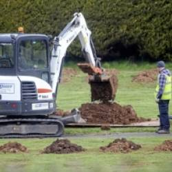 More Irish councils are pre-digging graves