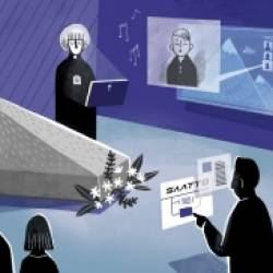 Technology is changing funerals and our posthumous options