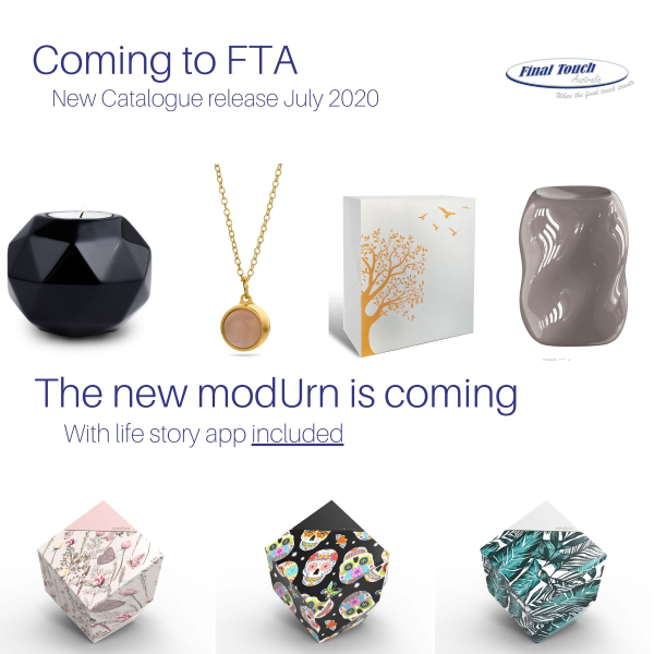 Final Touch Australia Mod Urn & Catalogue